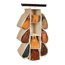 Nature of Storage Canvas Natural Hanging Handbag Organizer