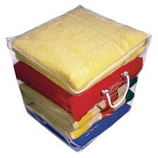 Clear Vinyl Cube Storage Bag