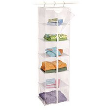 Clear Vinyl Maxi Rack 6-Shelf Sweater Bag