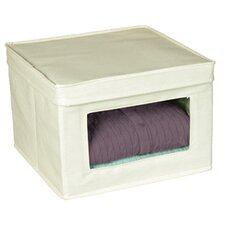 <strong>Richards Homewares</strong> Natural Canvas Storage Lid KD Window Box