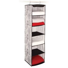 Skyline Closet Storage 6 Shelf Sweater Organizer