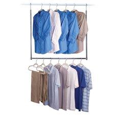 """Closet Accessories 35"""" H x 30"""" W x 1"""" D Commercial Double Closet"""