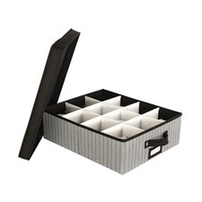 Tabletop Storage Stripe Cup Chest