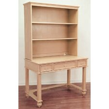 "Lily Rae 42"" W Writing Desk with Hutch"