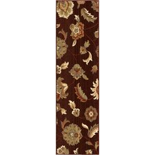 <strong>Orian Rugs Inc.</strong> Anthology Brown Red Frazier Rug