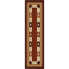 <strong>Orian Rugs Inc.</strong> Anthology Durango Brown/Red Rug