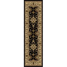 Four Seasons Shazad Black Indoor/Outdoor Rug