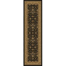 American Heirloom Serapi Black Rug