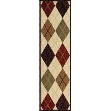 <strong>Orian Rugs Inc.</strong> Four Seasons Arbor Argyle Rug