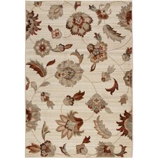 Anthology Beige White Frazier Rug