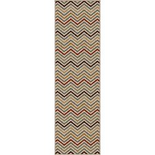 Simplicity Multi Harrington Rug
