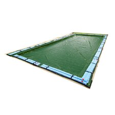 Dirt Defender 12-Year Rectangular In Ground Pool Winter Cover