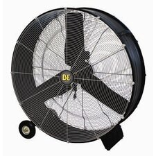 Direct Drive 2 Speed Drum Fan