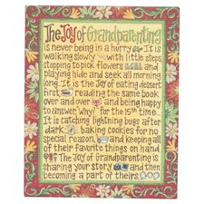 Joy of Grandparenting Magnet Textual Art on Canvas