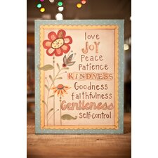 Fruit of Spirit Canvas Art