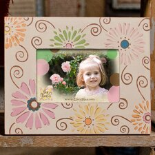 """Daisy"" Multi-colored Picture Frame"