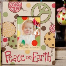 Peace On Earth Picture Frame
