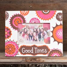Good Times Medallion Picture Frame
