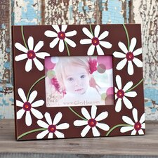 Chocolate Daisy Picture Frame