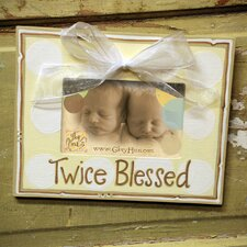 Twice Blessed Picture Frame
