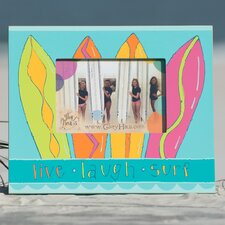 Live Laugh Surf Picture Frame