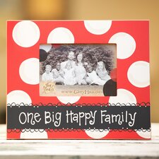 One Big Happy Family Picture Frame