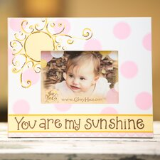 <strong>Glory Haus</strong> You Are My Sunshine Girl Picture Frame