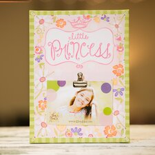 Little Princess Clip Canvas Picture Frame