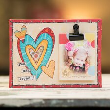 <strong>Glory Haus</strong> You Are Loved! Clip Canvas Picture Frame