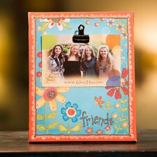 Friends Clip Canvas Picture Frame