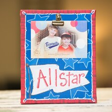 All Star Clip Canvas Picture Frame