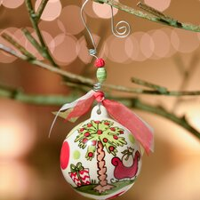 SC Palmetto Moon and Sleigh Ball Ornament