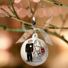 Bride and Groom Ball Ornament