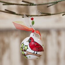 Cardinal Ball Ornament