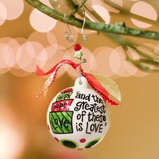Faith Hope Love Gifts Ball Ornament