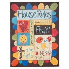 House Rules Original Painting on Canvas