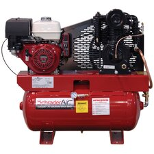30 Gallon Compressor For The Service Industry Gas Powered Air Compressor