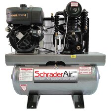 30 Gallon Compressor For The Service Industry 9.8 HP Diesel Powered Air Compressor