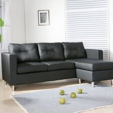 Osaka Faux Leather 3 Seater Sofa