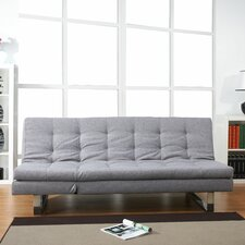 <strong>Leader Lifestyle</strong> Milano 3 Seater Convertible Sofa Clic Clac Bed