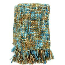 <strong>Sabira</strong> Mohair Woven Wool / Acrylic Throw