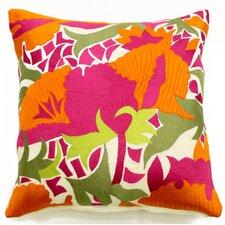 Gulmahar Linen Pillow