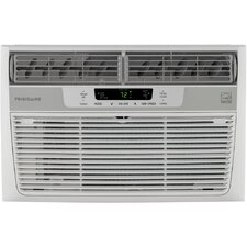 8,000 BTU Energy Star Window-Mounted Mini-Compact Air Conditioner with Remote