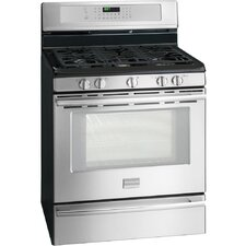 "Professional Series 30"". Gas Freestanding Range with 5 Cu. Ft. True Convection Space-Wise Oven"