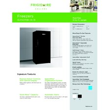 Gallery Series Energy Star Upright Frost-Free Freezer