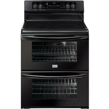 "Gallery Series 30"" Electric Smoothtop Freestanding Range with Double Ovens"