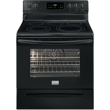 "<strong>Frigidaire</strong> Gallery Series 30"" Electric Smoothtop Freestanding Range with 5.7 Cu. Ft. Convection Oven"