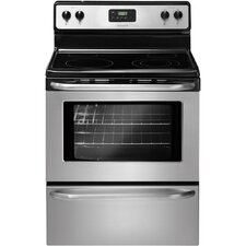 "30"" Electric Smoothtop Freestanding Range with 4.8 Cu. Ft. Oven"