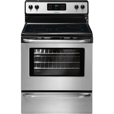 "30"" Electric Smoothtop Freestanding Range with 5.3 Cu. Ft. Self-Clean Oven"