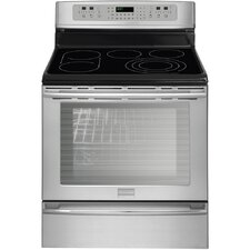 "Professional Series 30"" Electric Smoothtop Freestanding Range with 6 Cu. Ft. PowerPlus Convection Oven"